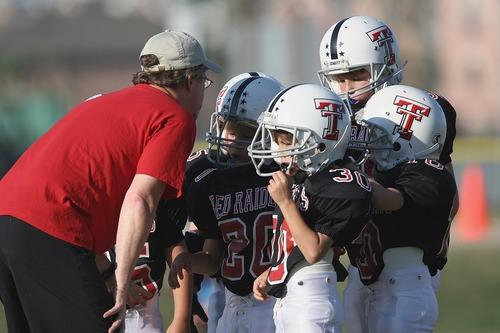 Kids football team