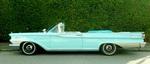 Teal Blue Vintage Car