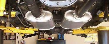 Custom exhaust 370 150
