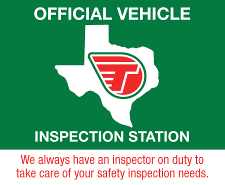 Texas inspection center pop up