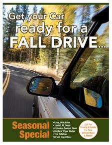 Fall seasonal special