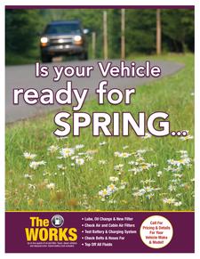 Spring seasonal special