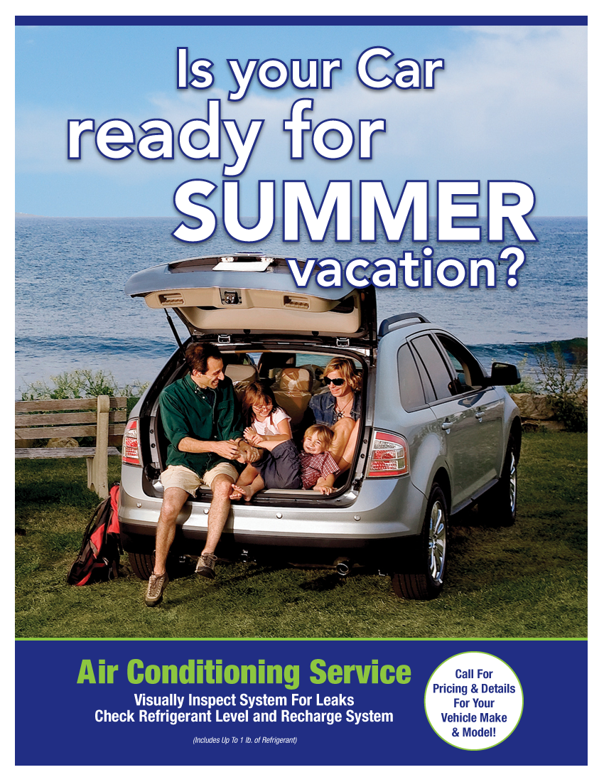 Air Conditioning Special (Call Shop For Details)