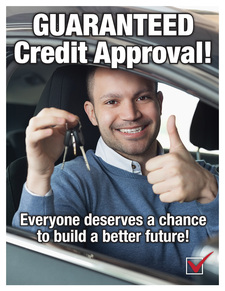 Guaranteed credit app