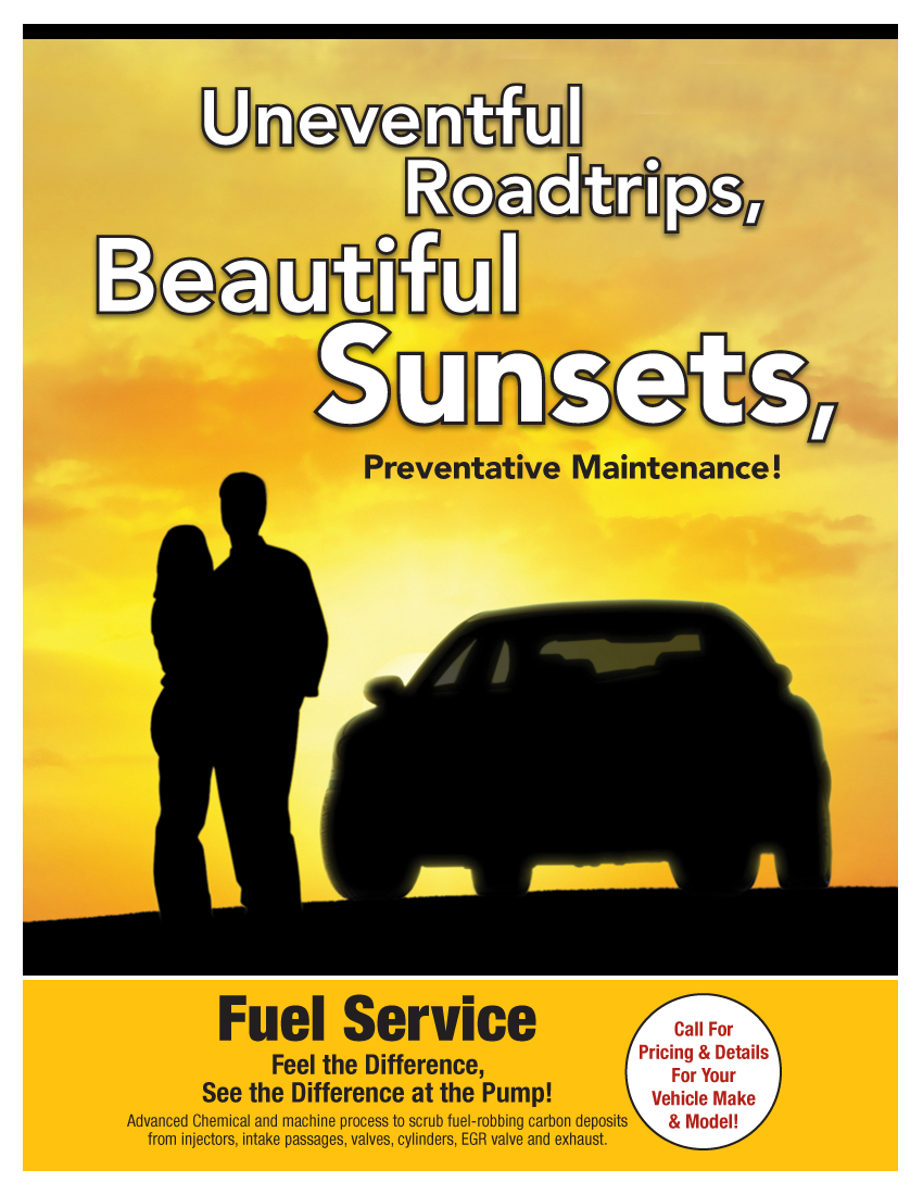 Fuel System Service (Call Shop For Details)