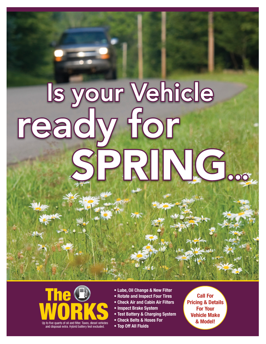 Seasonal Spring Special (Call Shop For Details)