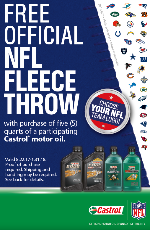 NFL Fleece Giveaway