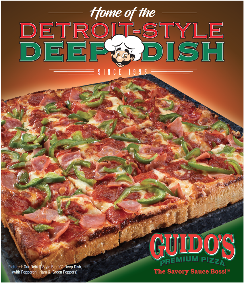 Detroit Style Deep Dish