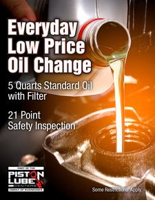 Oil change cp 1
