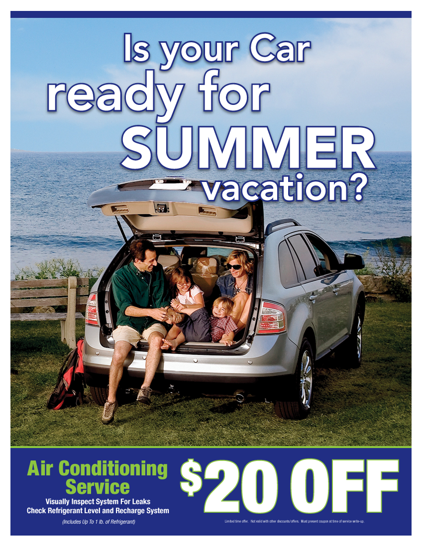 Air Conditioning Special $20 OFF