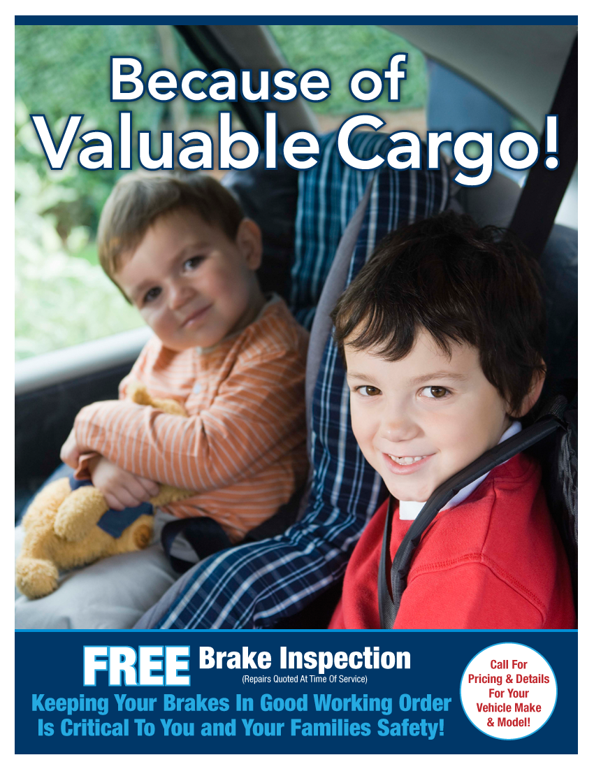 FREE Brake Inspection (Option B)