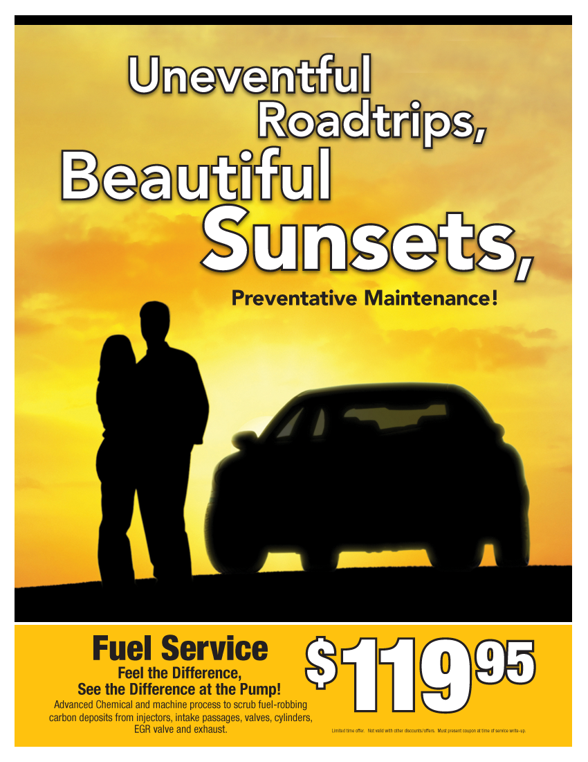 Fuel System Service $119