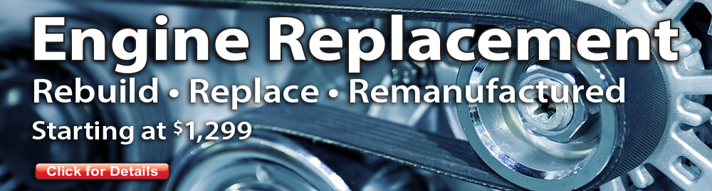Engine Repair and Replace