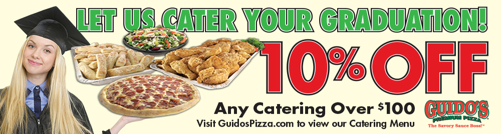 10% Off Graduation Catering