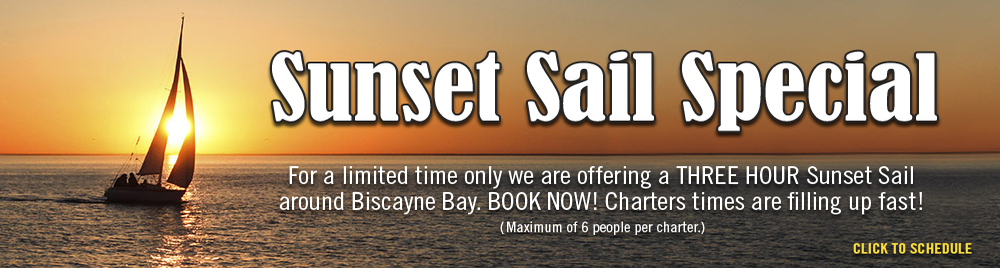 Sunset Sail Charters Miami, Florida