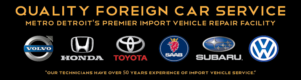 Foreign Car Repair Metro Detroit