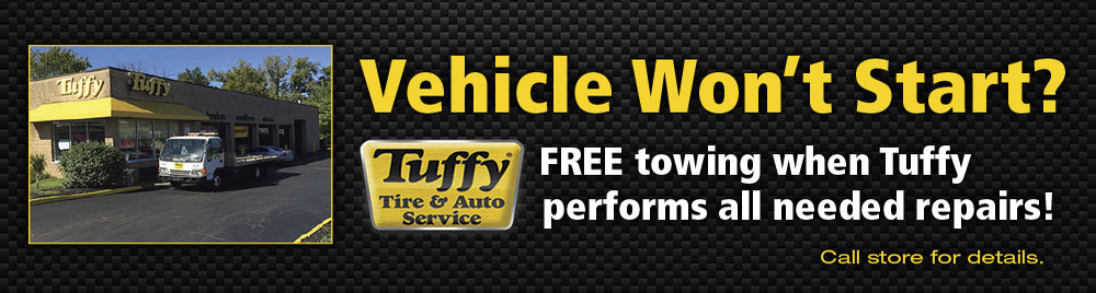 Tuffy Tire and Auto Service Center Offers Free Towing