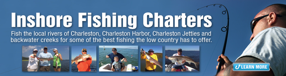 Flood Tide Inshore Fishing Charter, Charleston South Carolina
