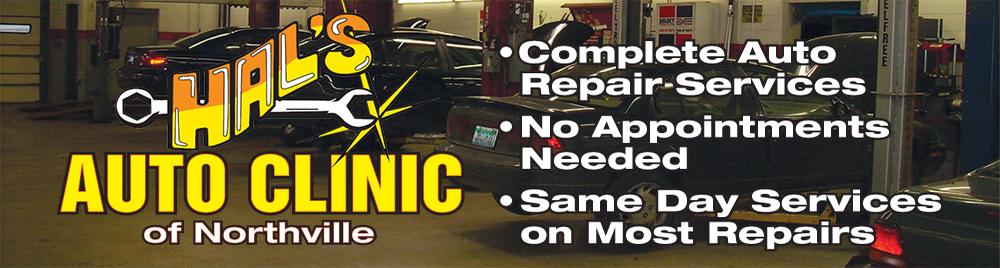 Auto Repair Service Northville, MI.