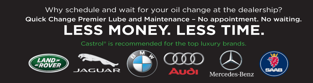 Quick Change Oil Center Offers Premium Oil