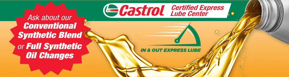 Certified Castrol Express Lube Center