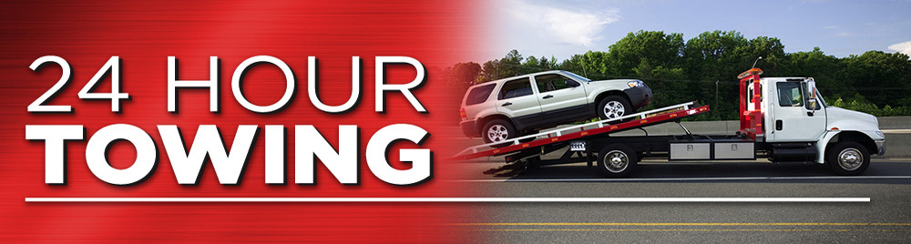 24 Hour Towing Available!