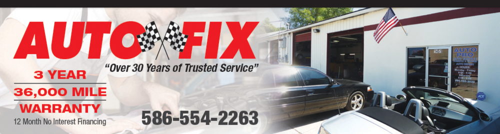 Auto Fix Clinton Township Warranty