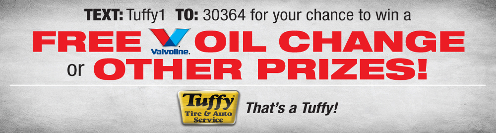 Tuffy Free Valvoline Oil Change