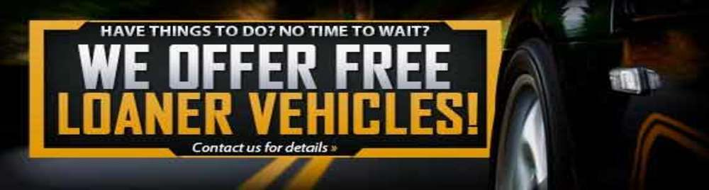 Free Loaner Car Collision ShopS
