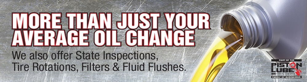Piston Lube Center Oil Change