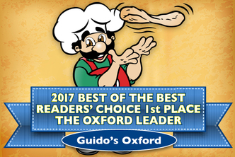 Oxford Voted #1 Best Pizza