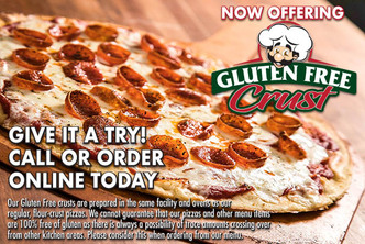 Gluten Free Pizza Near Me