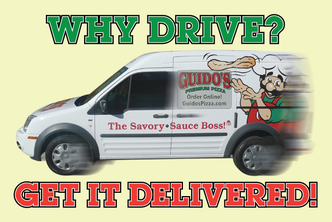 Guido's Premium Pizza Delivers