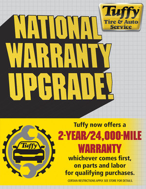 Tuffy Warranty/Roadside Assistance