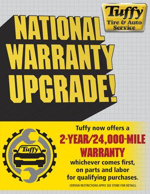 Tuffy Warranty/Roadside Assistance