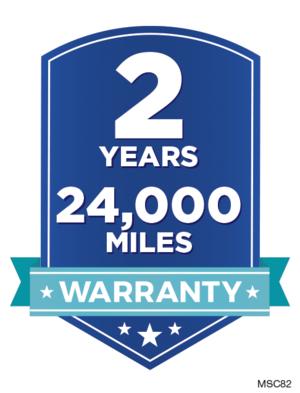 2 Year/24,000 Mile Warranty