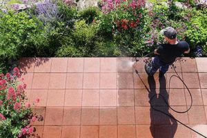 Brick Paver Cleaning & Sealing