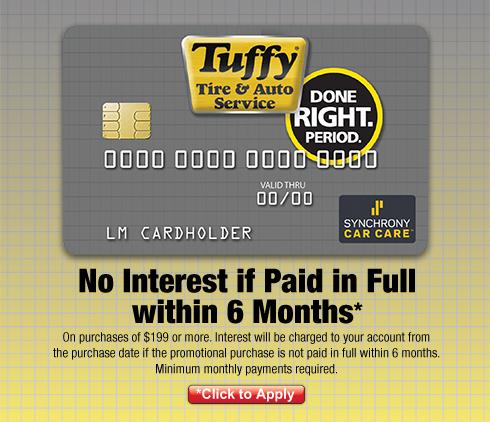 Tuffy no interest hp